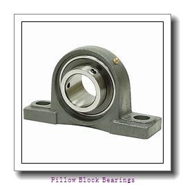 2.438 Inch | 61.925 Millimeter x 4.375 Inch | 111.13 Millimeter x 3 Inch | 76.2 Millimeter  REXNORD MP5207A  Pillow Block Bearings