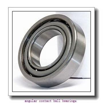 75 mm x 130 mm x 25 mm  SKF QJ 215 MA  Angular Contact Ball Bearings