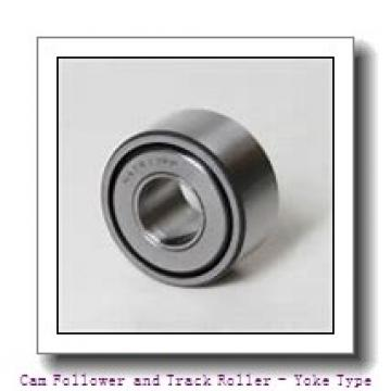 CONSOLIDATED BEARING RNA-22/8-2RS  Cam Follower and Track Roller - Yoke Type
