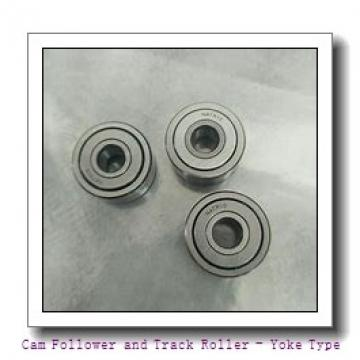 CONSOLIDATED BEARING NA-22/8-2RSX  Cam Follower and Track Roller - Yoke Type