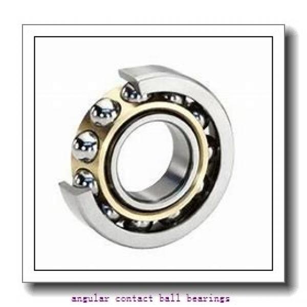 55 mm x 100 mm x 21 mm  SKF QJ 211 MA  Angular Contact Ball Bearings #1 image