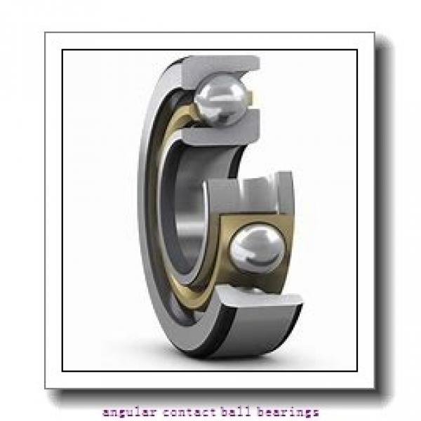 1.181 Inch | 30 Millimeter x 2.441 Inch | 62 Millimeter x 0.937 Inch | 23.8 Millimeter  SKF 3206 A-2RS1/MT33  Angular Contact Ball Bearings #1 image