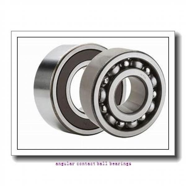 75 mm x 130 mm x 41,28 mm  TIMKEN 5215K  Angular Contact Ball Bearings #2 image