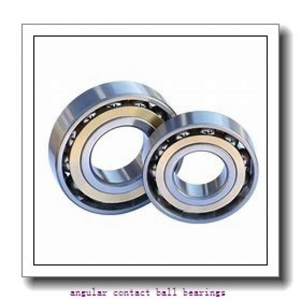 17 mm x 40 mm x 12 mm  TIMKEN 7203W  Angular Contact Ball Bearings #2 image
