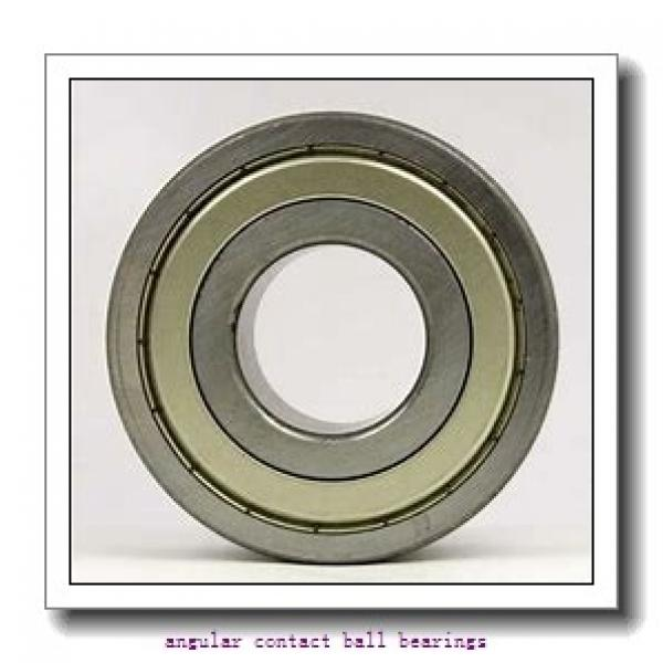 30 mm x 62 mm x 16 mm  TIMKEN 7206WN  Angular Contact Ball Bearings #1 image