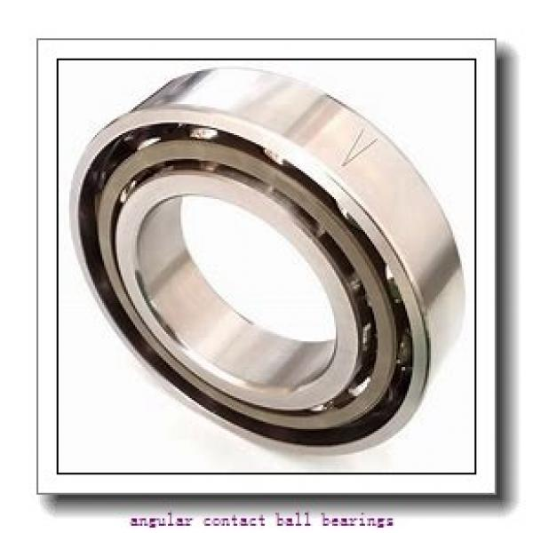 85 mm x 180 mm x 41 mm  SKF QJ 317 N2MA  Angular Contact Ball Bearings #1 image
