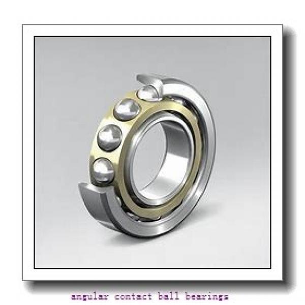 55 mm x 140 mm x 33 mm  SKF 7411 BGBM  Angular Contact Ball Bearings #1 image