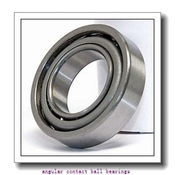 30 mm x 72 mm x 19 mm  SKF QJ 306 MA  Angular Contact Ball Bearings #1 image