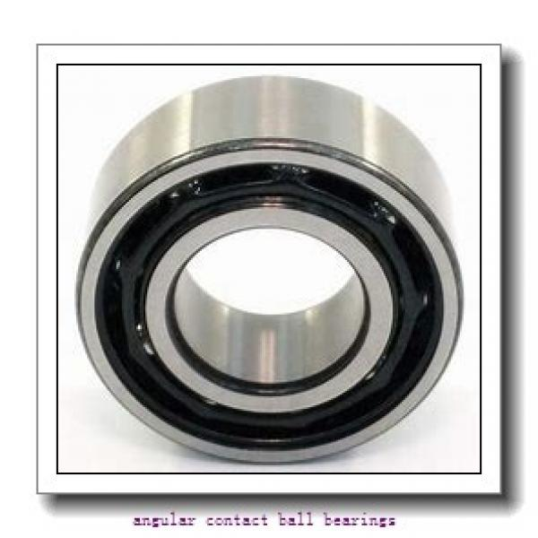 17 mm x 40 mm x 12 mm  TIMKEN 7203W  Angular Contact Ball Bearings #3 image