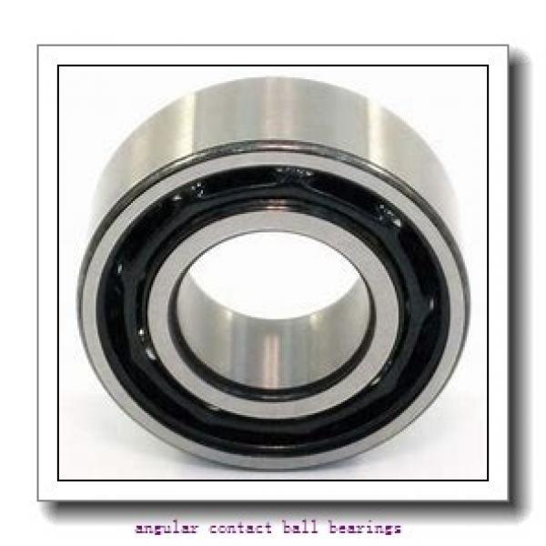 85 mm x 180 mm x 41 mm  SKF 7317 BECBJ  Angular Contact Ball Bearings #1 image