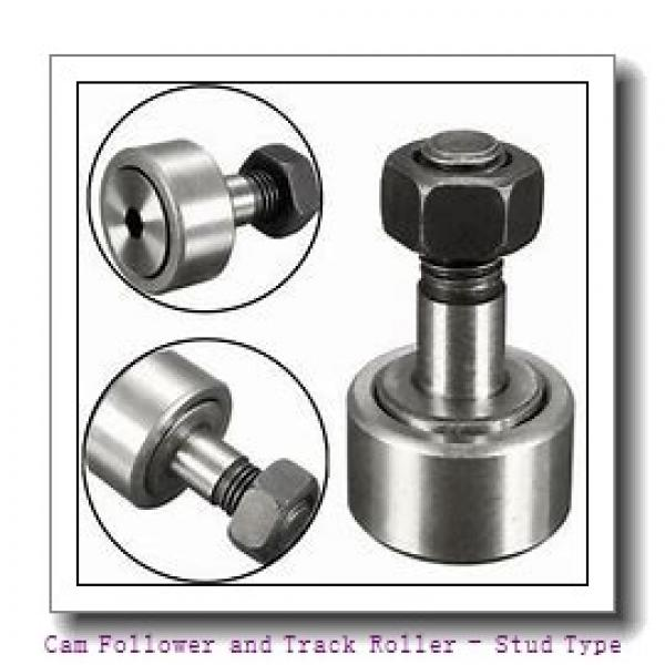 IKO CFFU1-8  Cam Follower and Track Roller - Stud Type #1 image