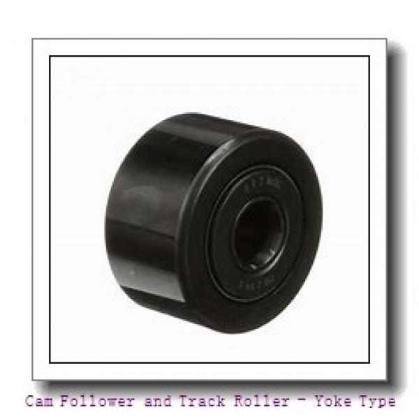 CONSOLIDATED BEARING RNA-2207-2RS  Cam Follower and Track Roller - Yoke Type #2 image