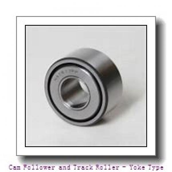 CONSOLIDATED BEARING 305802-2RS  Cam Follower and Track Roller - Yoke Type #2 image