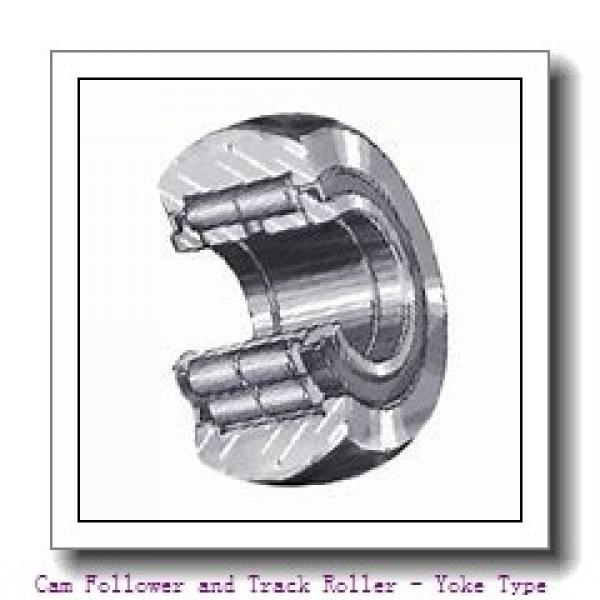 CONSOLIDATED BEARING NA-22/6-2RSX  Cam Follower and Track Roller - Yoke Type #1 image