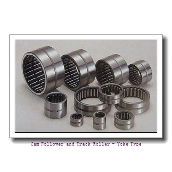 CONSOLIDATED BEARING NA-22/6-2RSX  Cam Follower and Track Roller - Yoke Type #2 image