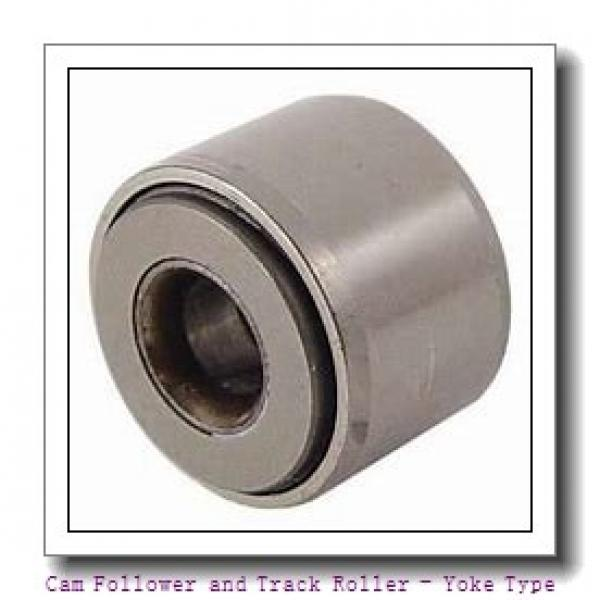 CONSOLIDATED BEARING LR-50/6-2RS  Cam Follower and Track Roller - Yoke Type #1 image