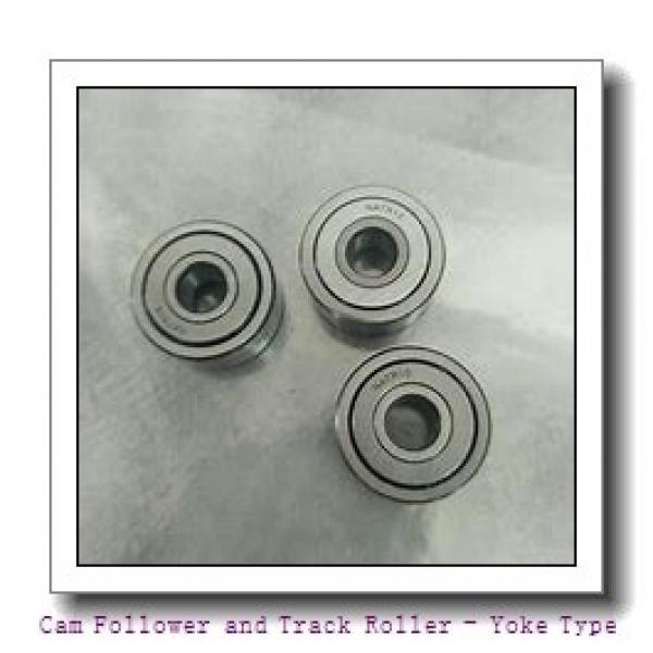 INA NA2203-X-2RSR  Cam Follower and Track Roller - Yoke Type #1 image