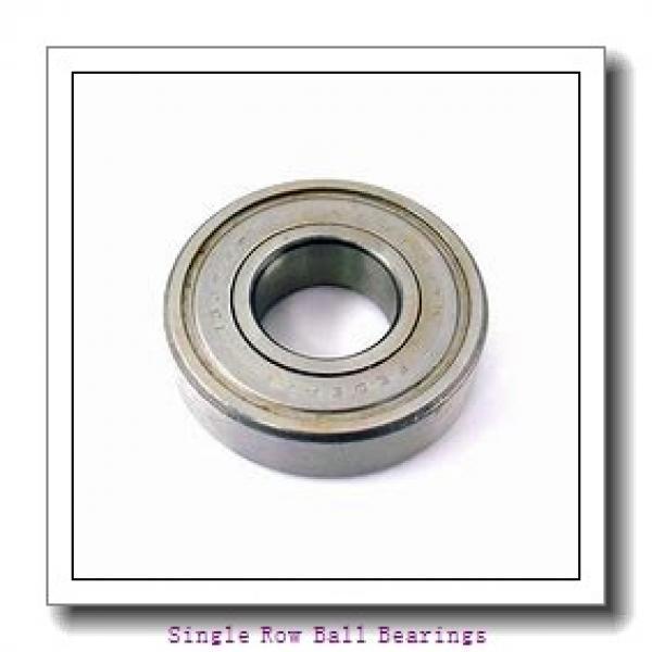 NACHI 6219ZZ C3  Single Row Ball Bearings #2 image